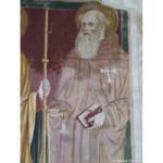 2020-10 San Polo (80) Chiesa San Giorgio Affreschi Sant'Antonio Abate SFA